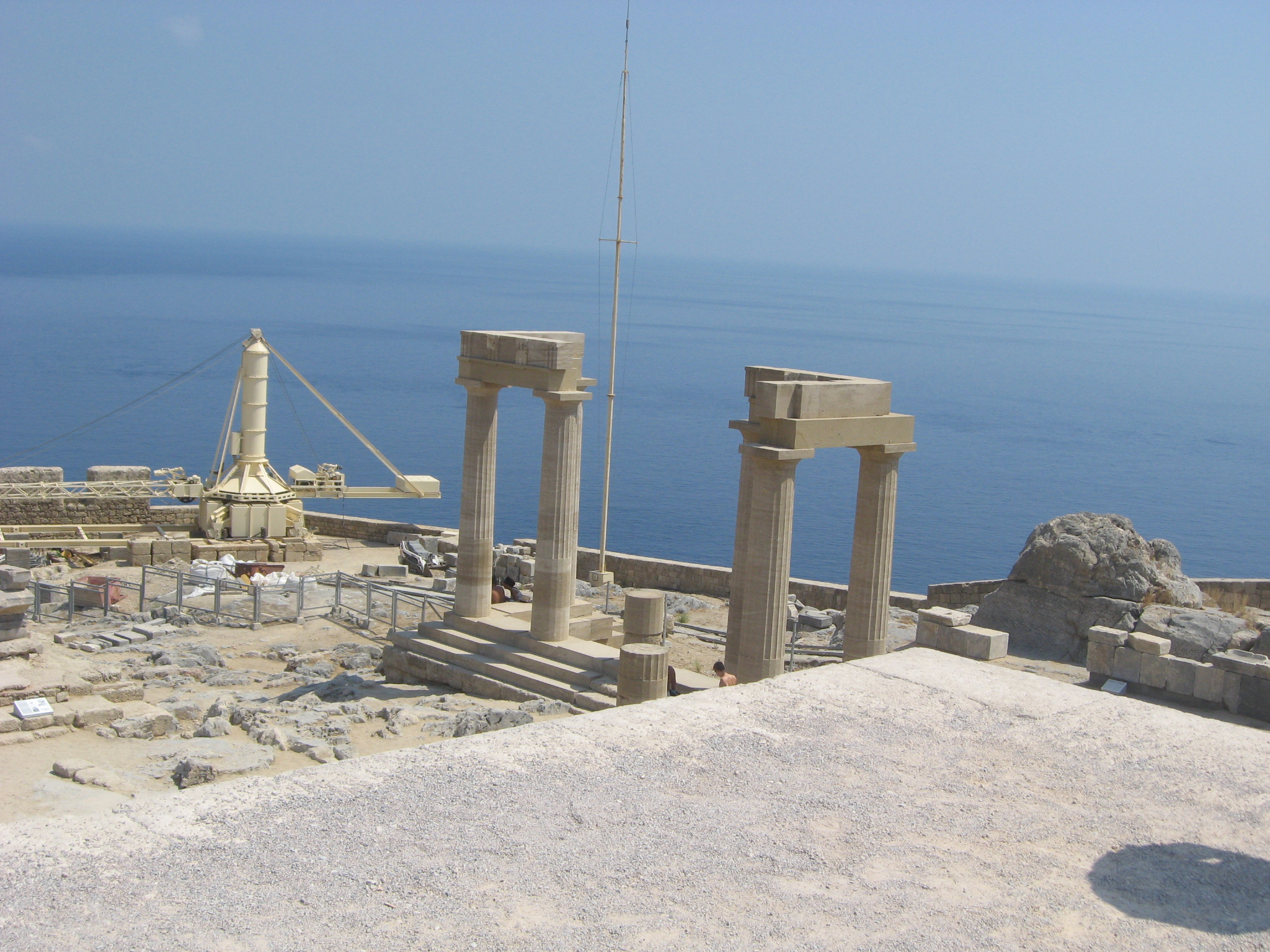 Acropolis of Lindos 23