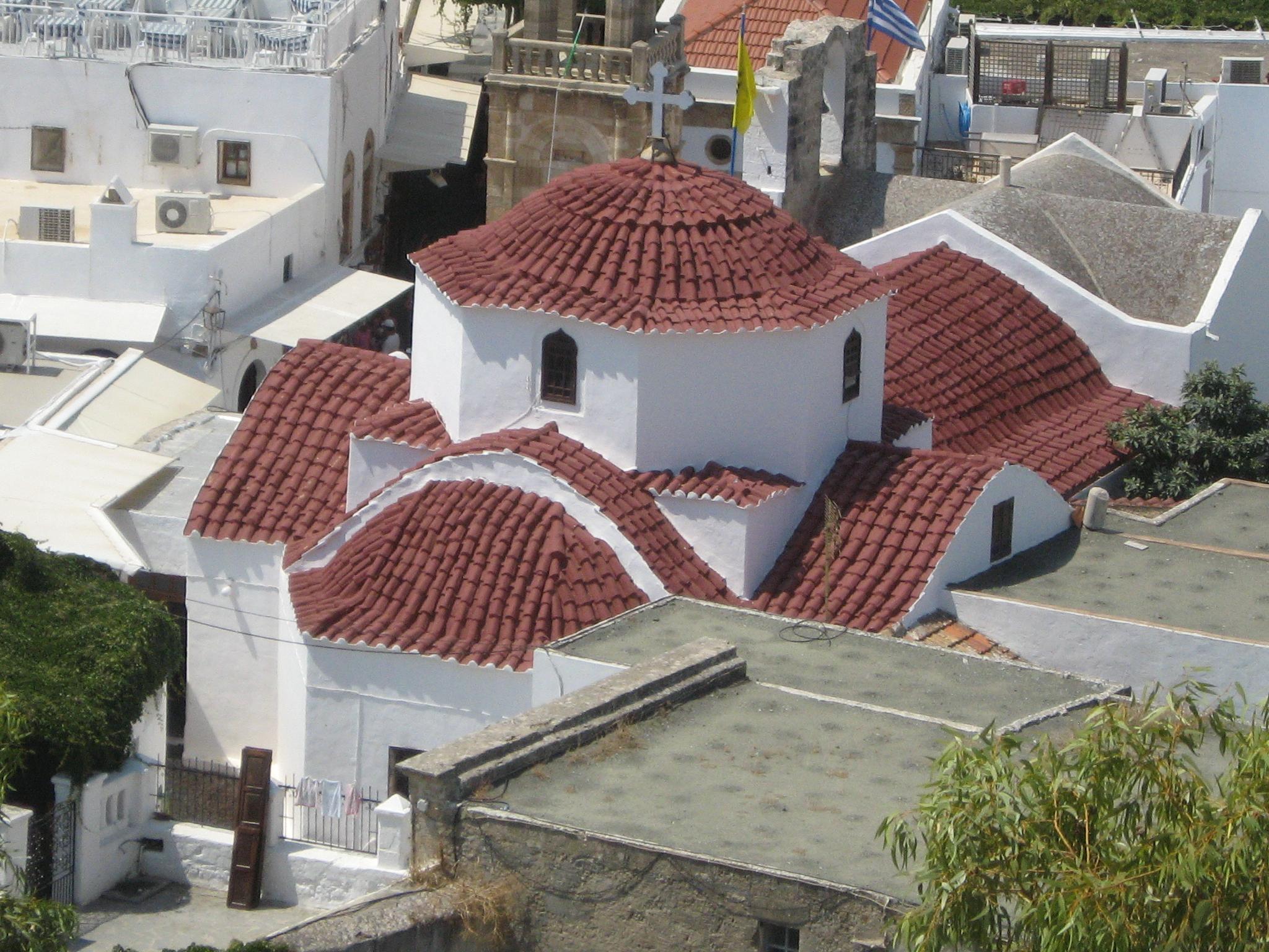 Lindos village 44