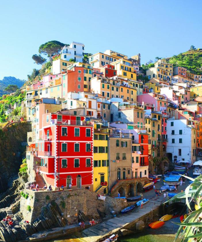 CINQUE TERRE – seoski šarm na italijanski način