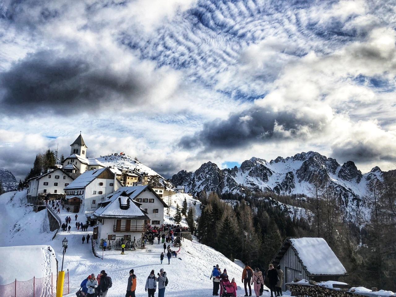 Zimska bajka na vrhu Alpa – Monte Lussari